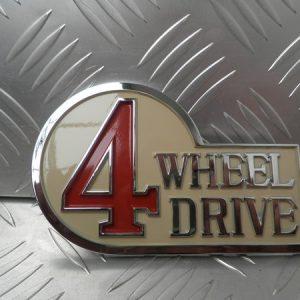 4WD embleem 40-serie Toyota Land Cruiser 40 serie